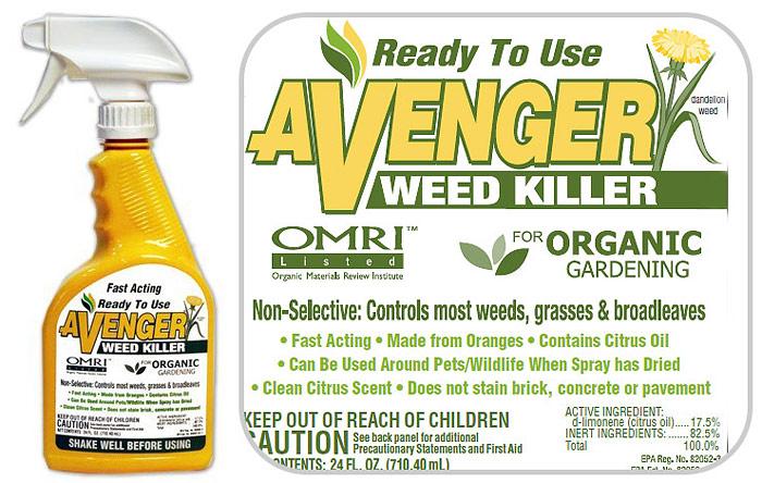 Vinegar-Based and Citrus-Based Herbicides
