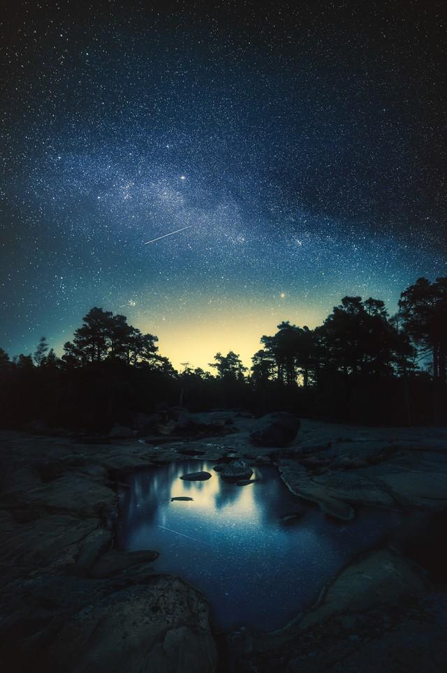 Quiet Corner Awe Inspiring Stardust Photos Of Finland Sky