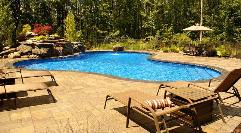 Quiet corner free form pool designs ideas quiet corner for Design a pool online for free