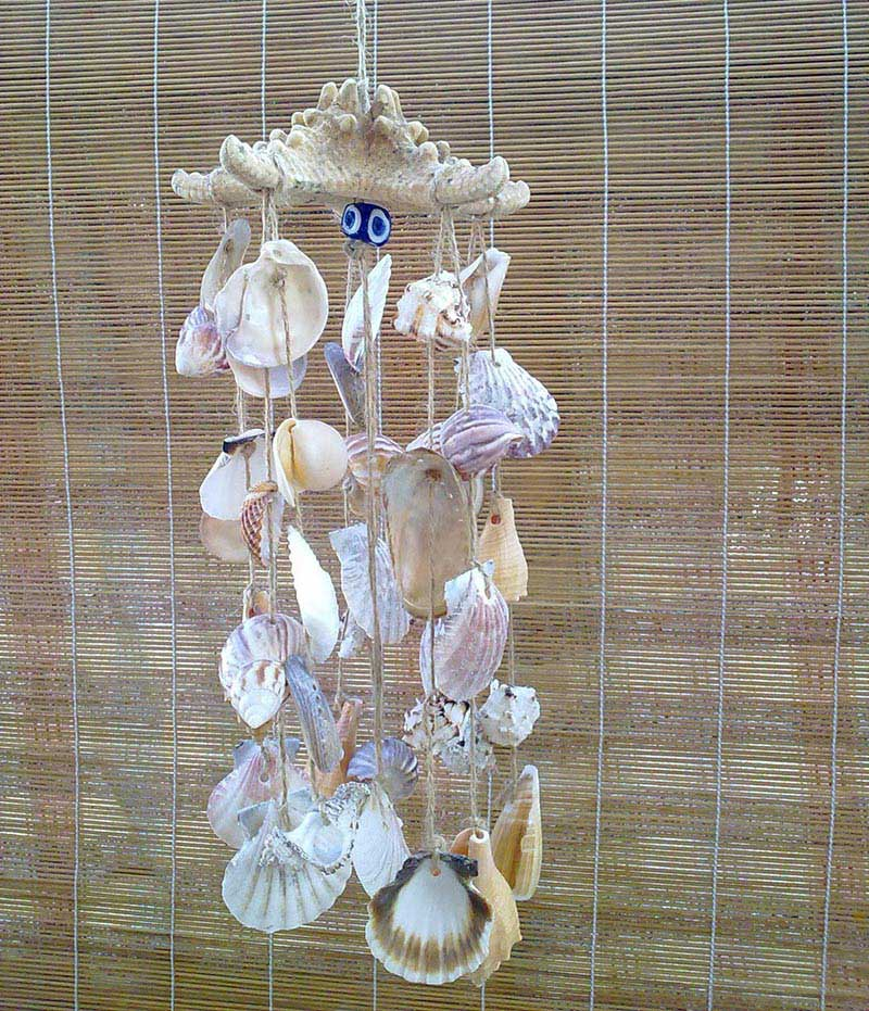 Quiet CornerGreat DIY Seashell Wind Chimes Ideas  Quiet Corner