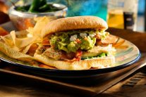 Guacamole Grilled Chicken Club