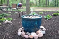 How To Make an DIY Outdoor Fountain