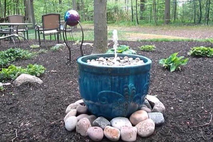 How To Make an DIY Outdoor Fountain
