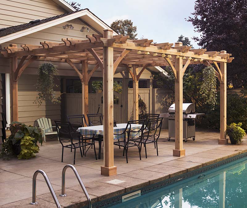 Quiet Corner Outdoor Pergolas Home Design Ideas Quiet Corner