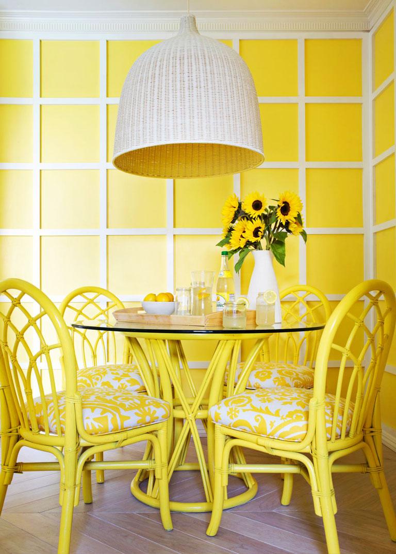 Quiet Corner Positive And Comfortable Yellow Rooms Quiet