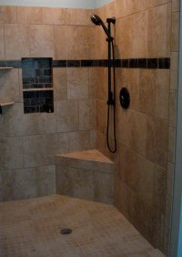 Shower Tile Ideas - Quiet Corner