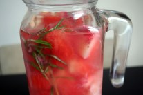 Strawberry Vitamin Detox Water