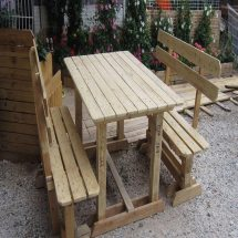 Wonderful Wood Pallet Outdoor Furniture Ideas - Quiet Corner