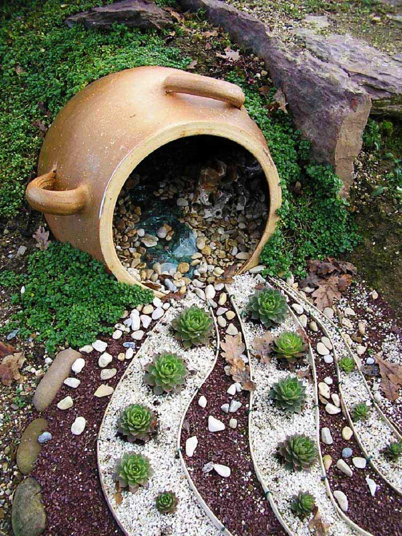 Diy Garden Projects Easy Diy Garden Projects With Stones Coffee Break Time