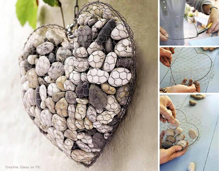 Easy DIY Garden Projects with Stones