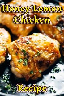 Honey Lemon Chicken Recipe