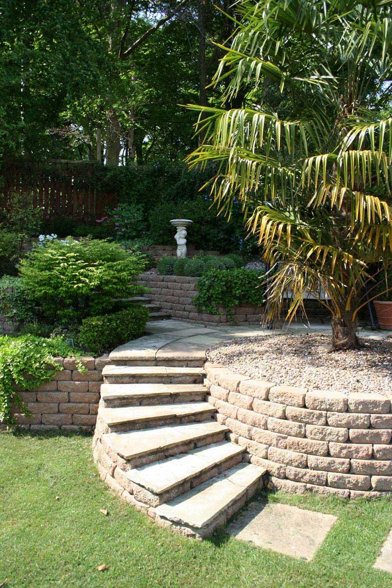Sloping Garden Design Ideas Quiet cornersloping garden design ideas quiet corner small sloping garden design ideas workwithnaturefo