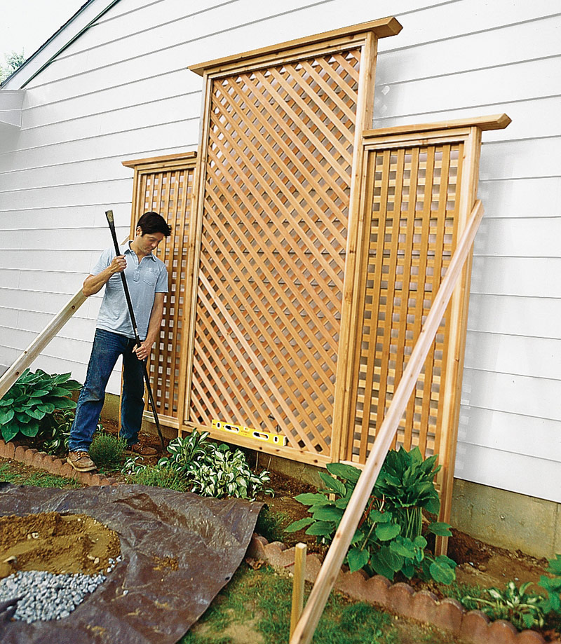 DIY - How to Make Trellis for Your Climbers - Quiet Corner