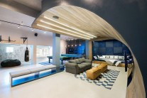 Urban Man Cave by Inhouse Architects