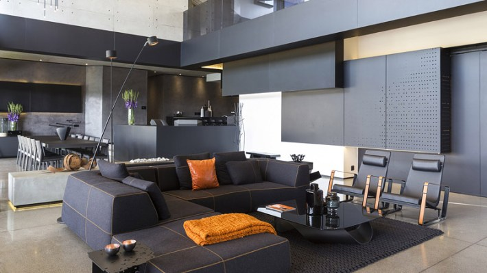 Sculptural Family Home - The Kloof Road House