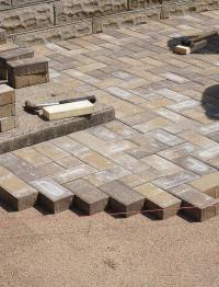 DIY How To Lay a Level Brick Paver Patio - Quiet Corner