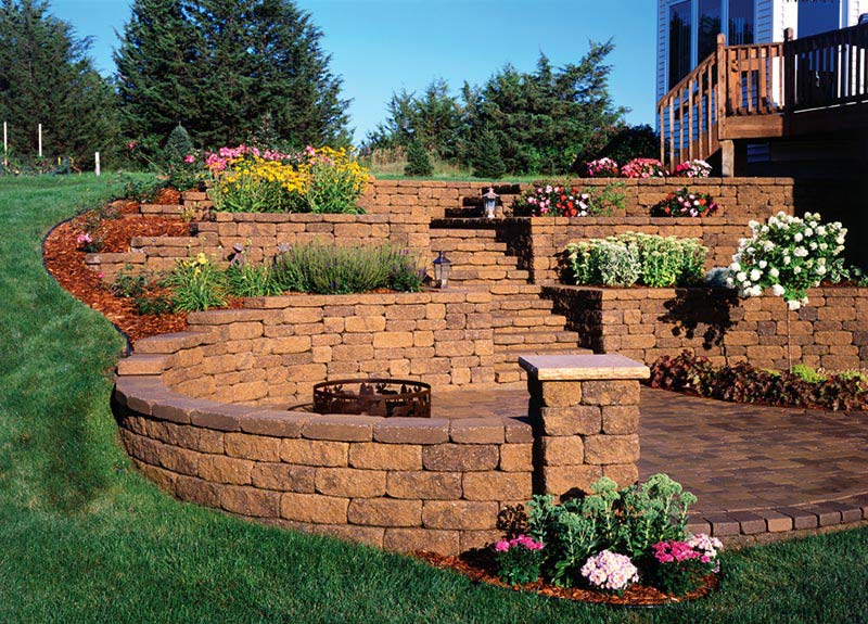 Quiet Corner Retaining Wall Design Ideas Quiet Corner