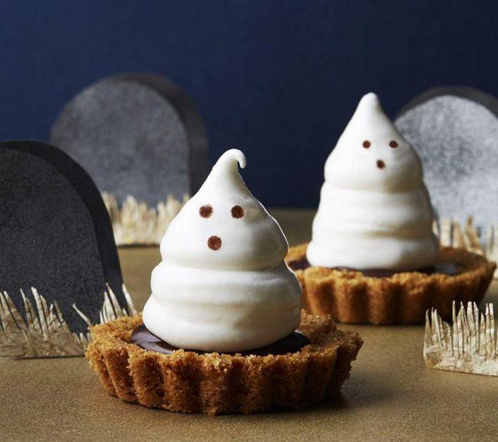 Meringue Ghost Tartlets Recipe