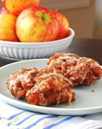 Simple Apple Fritters Recipe
