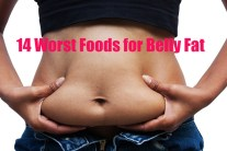 14 Worst Foods for Belly Fat