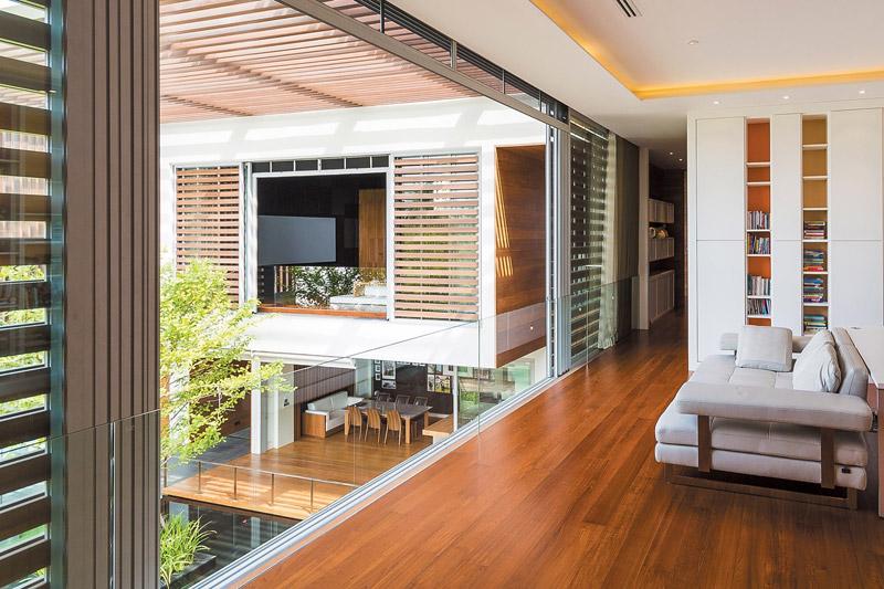 Modern Luxury - Wind House by Openspace Design - Quiet Corner