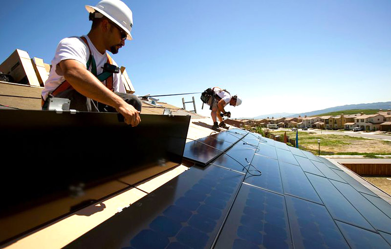 Quiet Corner Tesla Solar Roofing Will Be Cheaper Than