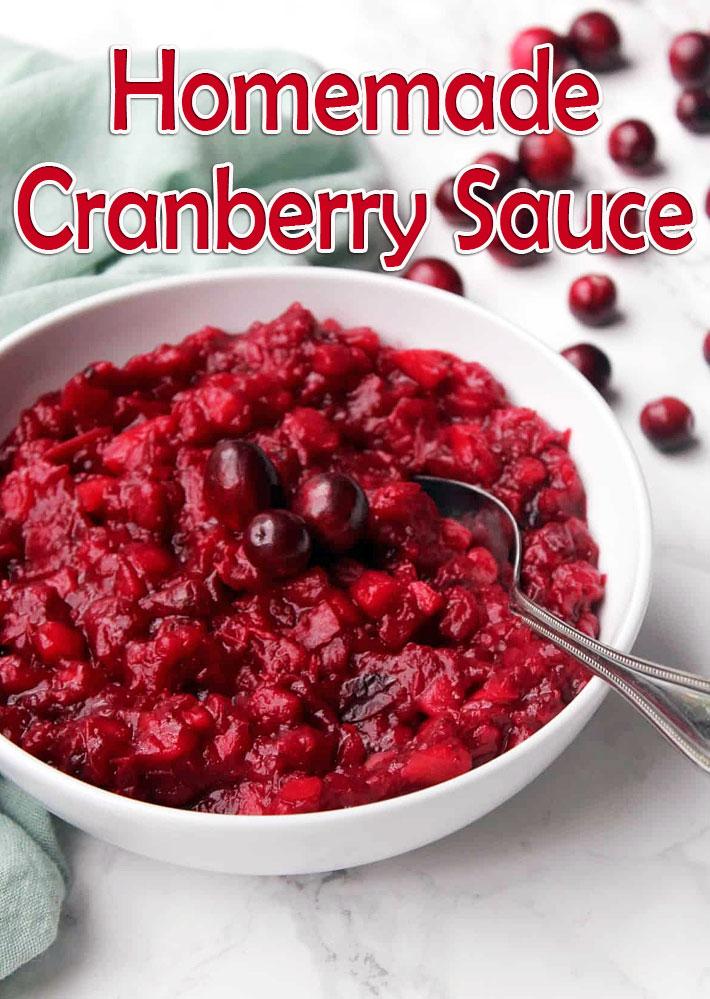 Homemade Cranberry Sauce Recipe - Quiet Corner