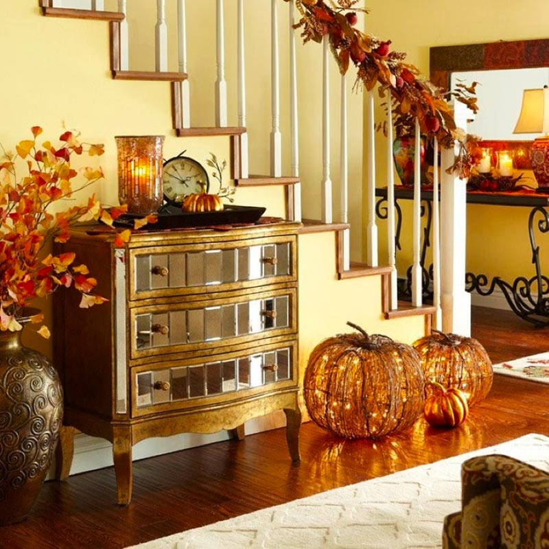 Fall Home Decorating Ideas: Quiet Corner:Thanksgiving Decorating Ideas