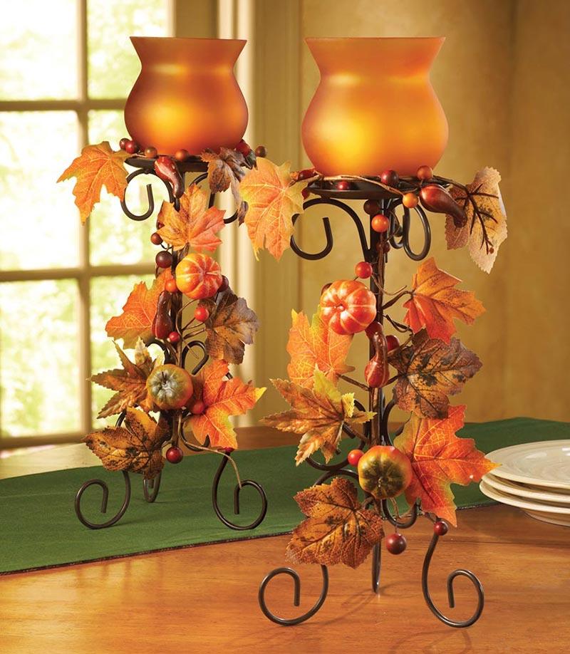 Thanksgiving Home Decor Ideas: Quiet Corner:Thanksgiving Decorating Ideas