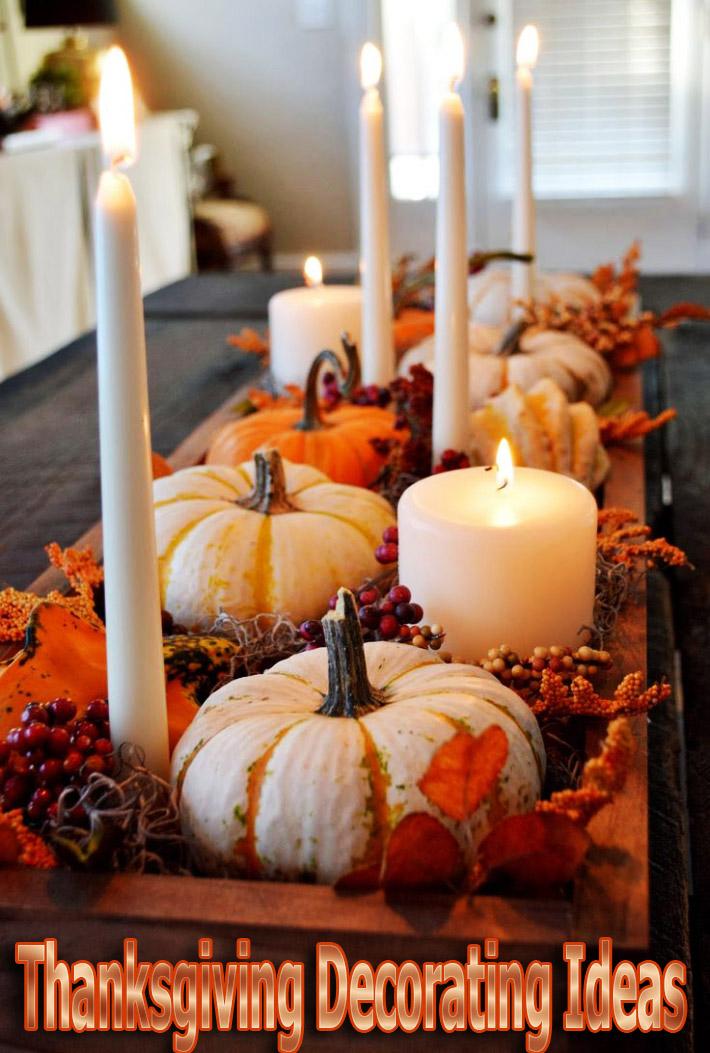 Thanksgiving Decorating Ideas - Quiet Corner