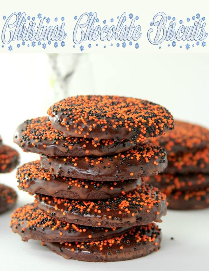 Christmas Chocolate Biscuits