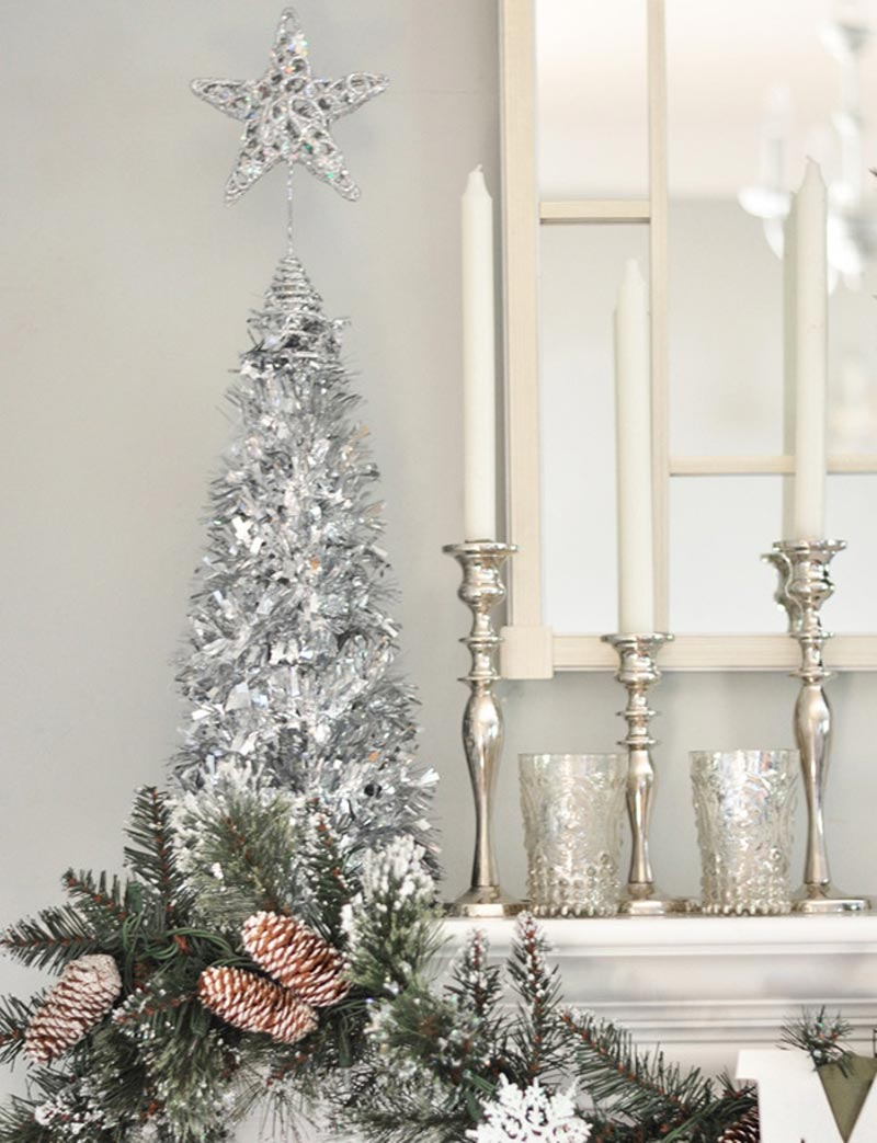 Quiet corner christmas home decorating ideas quiet corner for Christmas home decor 2016