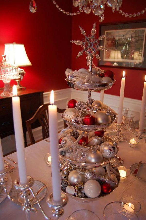 Christmas Table Centerpiece Decorations Ideas