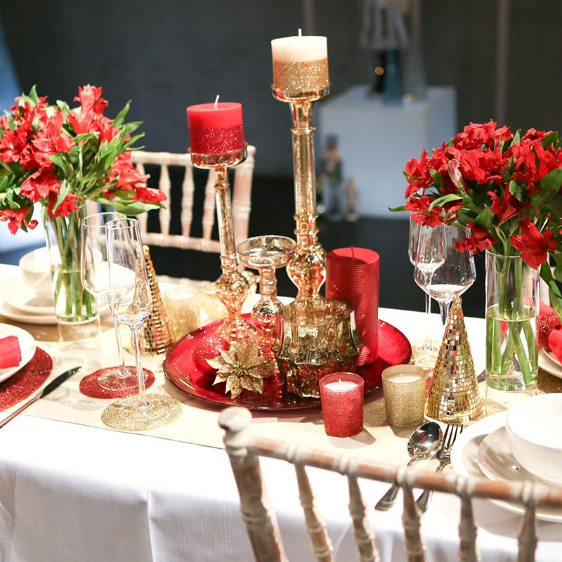 Quiet corner ideas for christmas table decorations quiet corner - Corner table decoration ideas ...