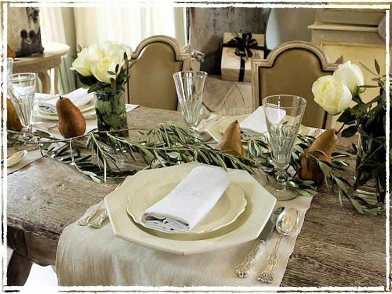 Quiet Corner Ideas For Christmas Table Decorations Quiet