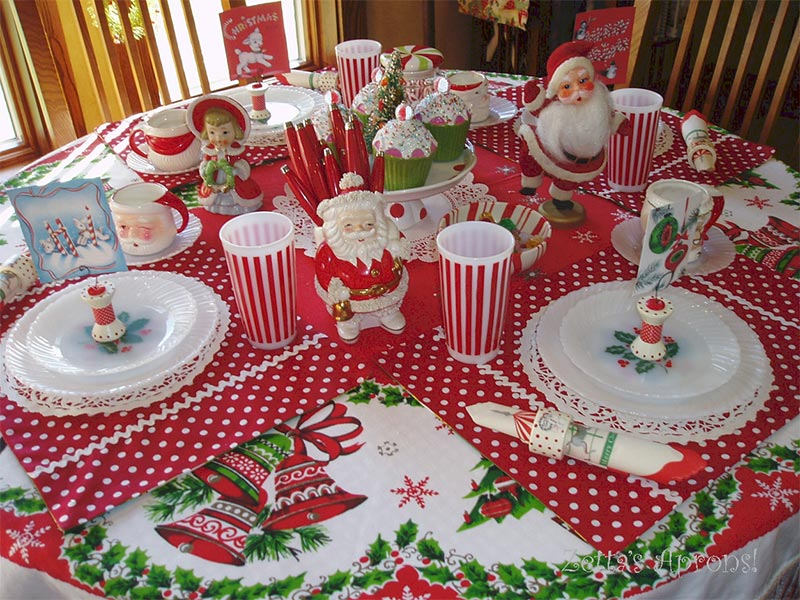 Quiet corner ideas for christmas table decorations quiet - Christmas table setting ideas ...
