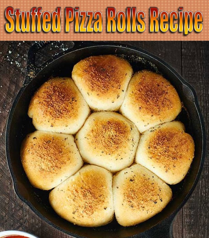 Stuffed Pizza Rolls Recipe