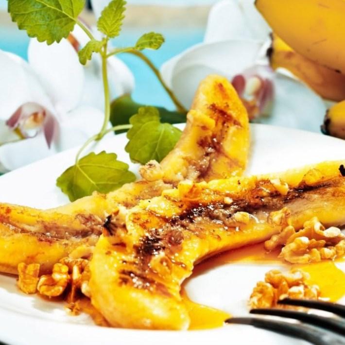 Honey Baked Bananas