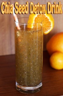 Chia Seed Detox Drink