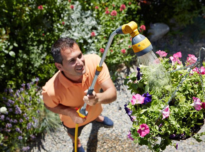 Watering Hanging Baskets 3