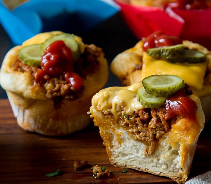 Keto Cheeseburger Muffins