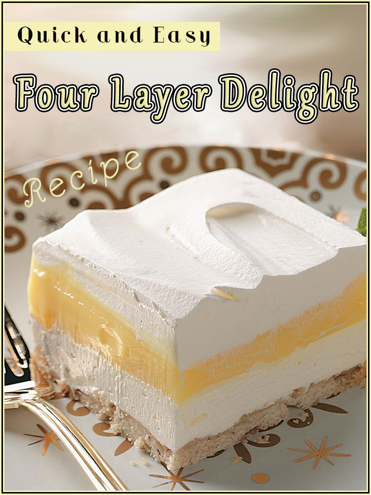 Quick and Easy Four Layer Delight - Quiet Corner