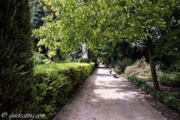 A mostly deserted path