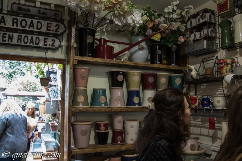 Colourful pots to show off your spoils