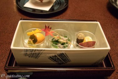 To hide assorted appetisers