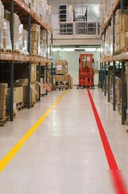 Mightyline floor marking tape industrial warehouse