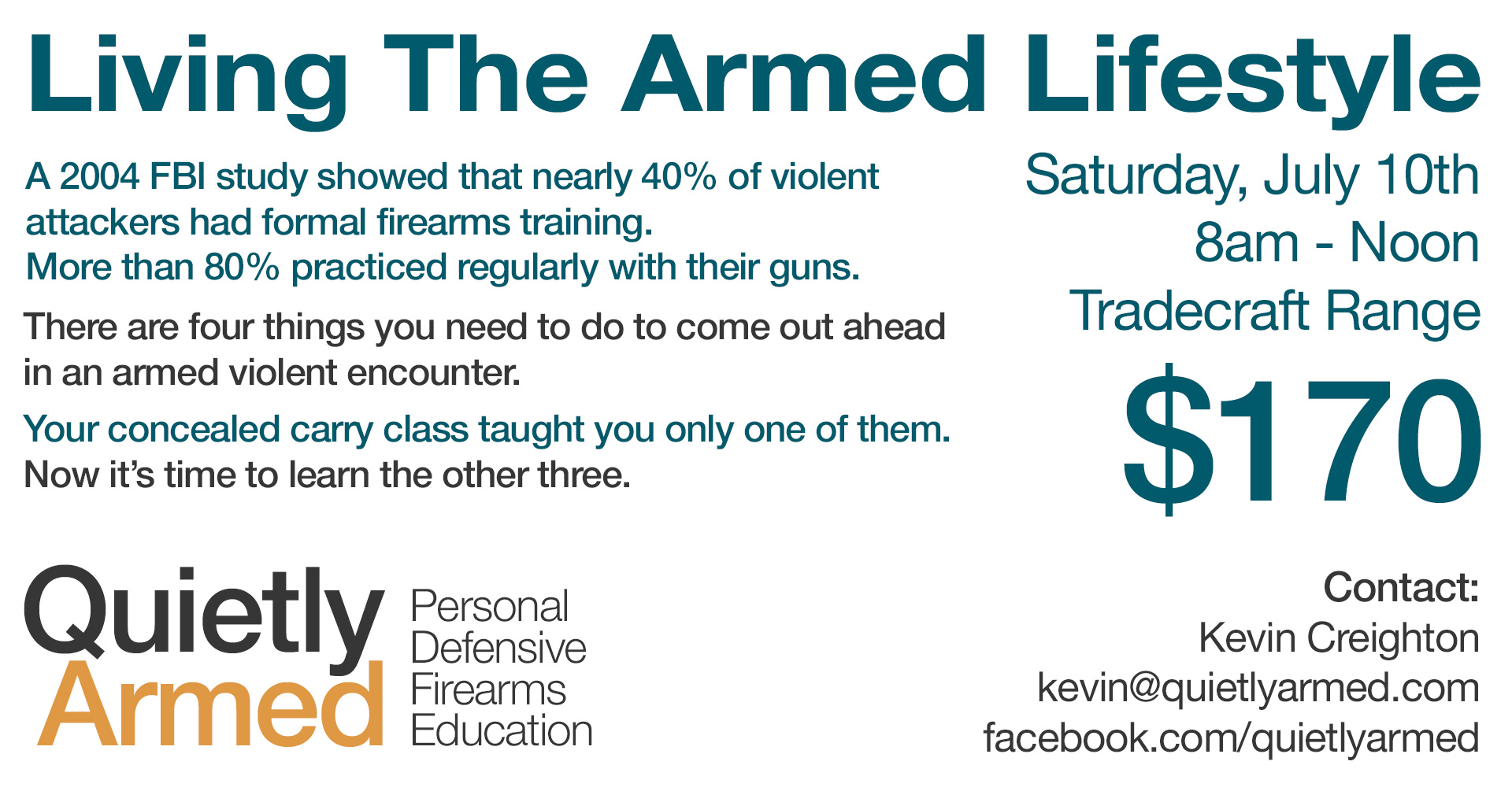 Introduction To The Armed Lifestyle