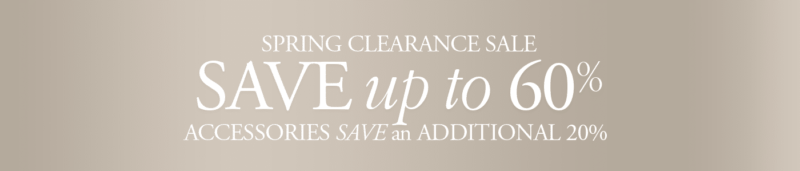 The Quiet Moose Spring Clearance Sale