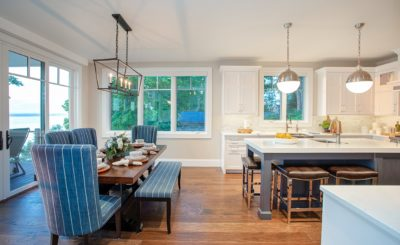 SMOOTHLY + SEAMLESSLY BLEND AN OPEN FLOOR PLAN