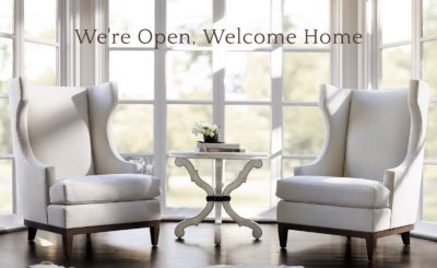 We're Open, Welcome Home